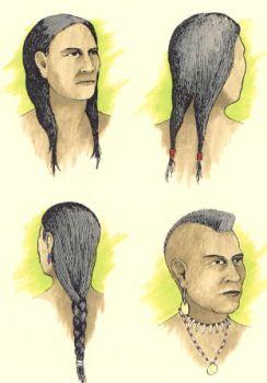 Hairweb De Frisuren Der Indiane Barenfett Und Biberschwanz Zopfe