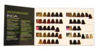 Haarfarben farbkarten und farbpaletten aussuchen - Couleur inoa nuancier ...
