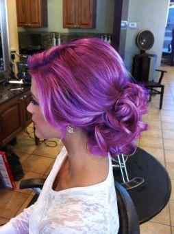 Hairweb De Haare Lila Und Violett Farben Profitipps Video Anleitung