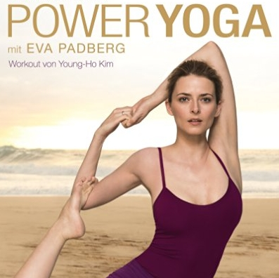 models eva padberg macht jetzt power yoga kuriose werbung f r. Black Bedroom Furniture Sets. Home Design Ideas
