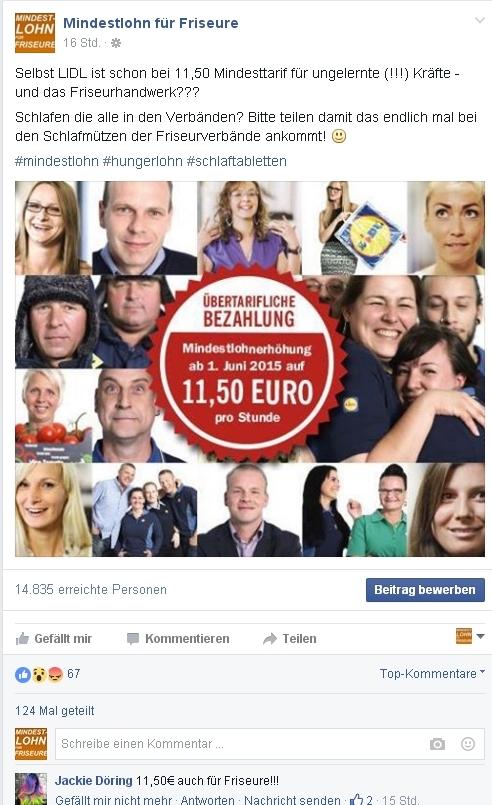 können facebook seiten job gefährden