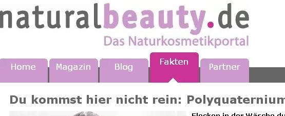 HairWeb.de • Gefährliche Inhaltsstoffe: Polyquaternium 7