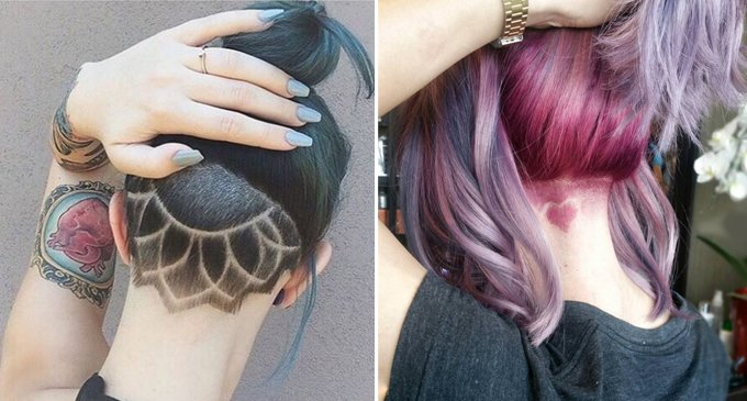 Hairwebde Trends Undercut Tattoo Bilder So Wirds